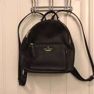 Kate Spade Black Backpack